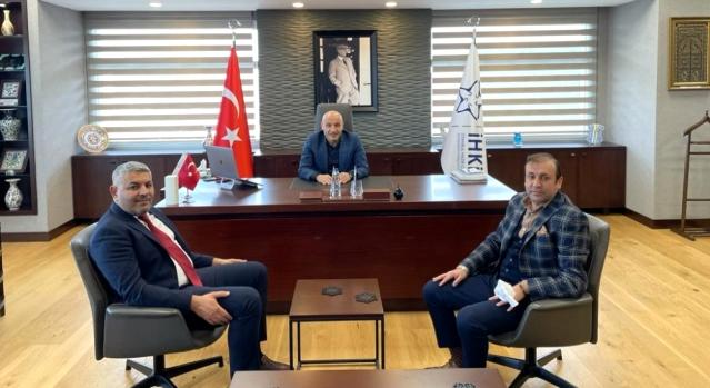 Malatya TSO Başkanı Sadıkoğlu, İHKİB Başkanı'nı ziyaret etti