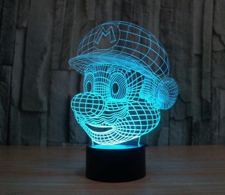 Oyuncuların hayran olacağı gece lambaları